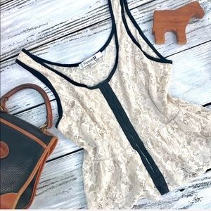 Forever 21, lace camisole top